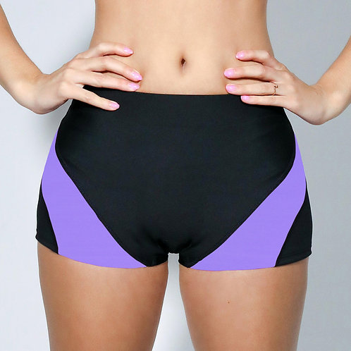 "2"" Inseam Shorts - Purple Periwinkle"