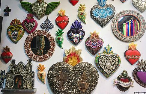 メキシコのブリキ飾り