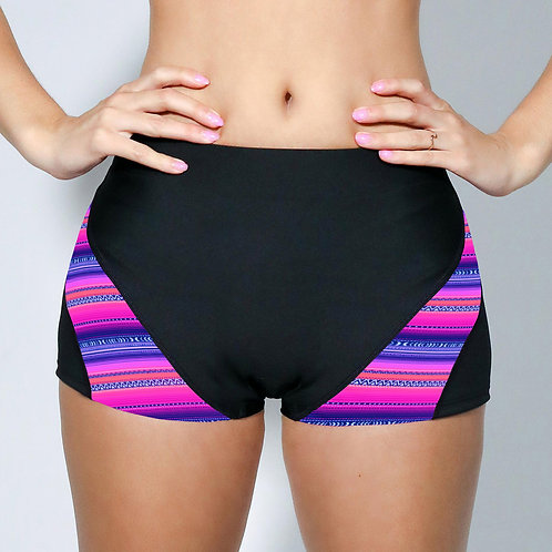 "2"" Inseam Shorts - Neon Aztec"