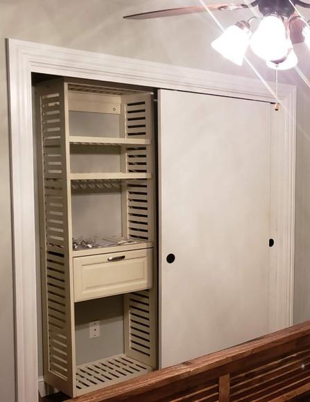 Closet Organizers Installed