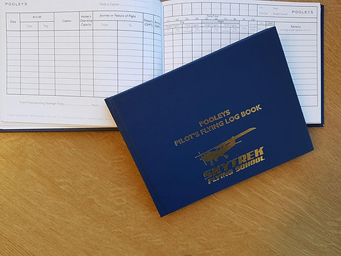 Pilots Flying Logbook (Supplied on completion of lesson)