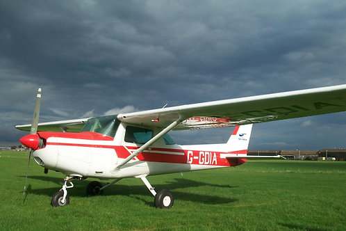 Trial Lesson with land away at Lydd - Cessna 152