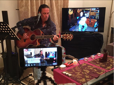 The Covid-19 Lockdown Sessions - Danny Vaughn Live From His Living Room Weeks 1-15 recap