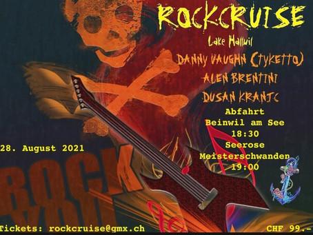 Switzerland RockCruise Show Announcement 28th August 2021