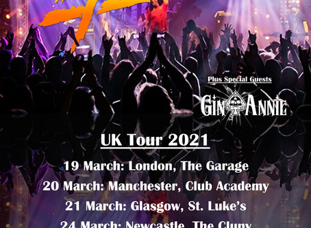 ****Important Tyketto Announcement**** about 2020 shows and confirmation of a UK Tour in March 2021