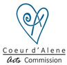 Coeur d'Alen Arts Commission logo.png