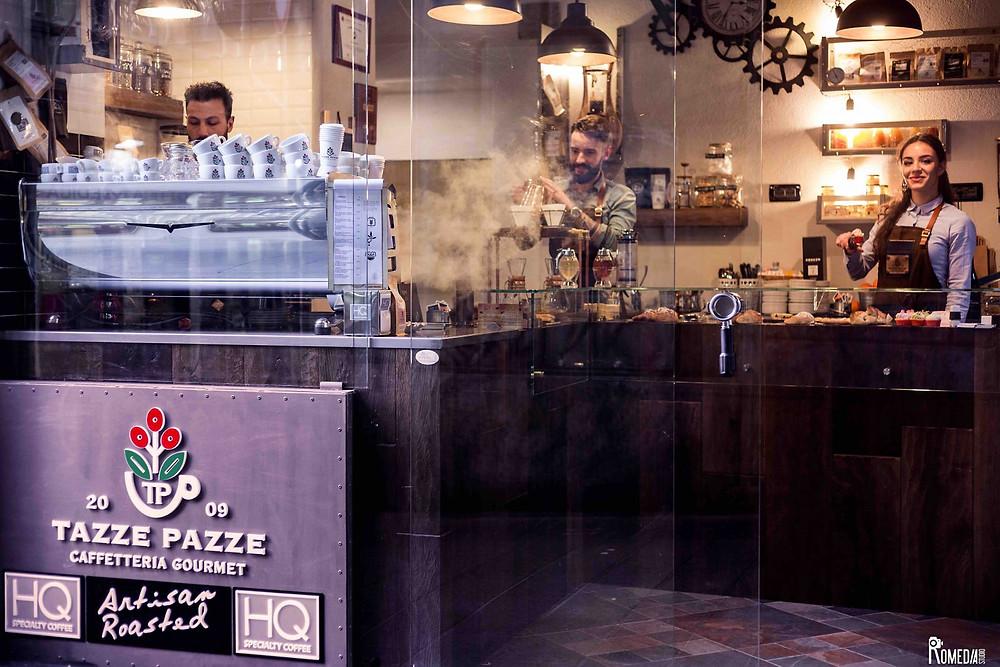 """""""Tazze Pazze"""" Caffetteria Gourmet a Genova"""