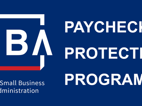 Federal Paycheck Protection Program Funds Replenished - Now accepting applications