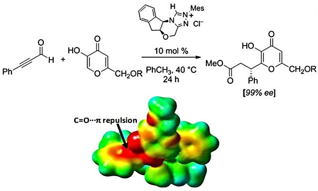 """<p class=""""font_8""""><strong>A Computational Study of the Origin of Stereoinduction in NHC-Catalyzed Annulation Reactions of alpha, beta-Unsaturated Acyl Azoliums</strong></p>"""