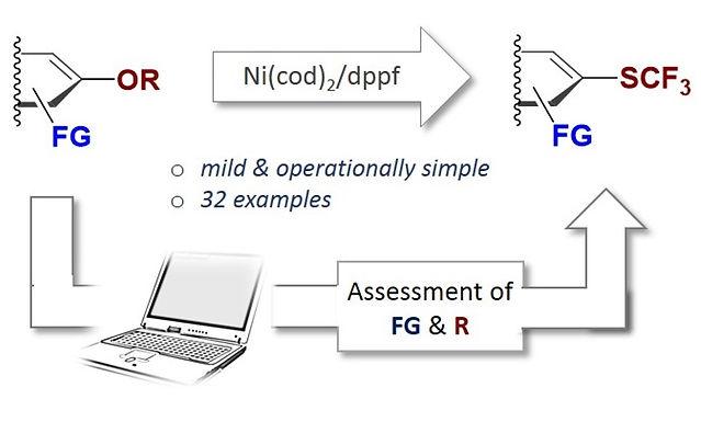 "<p class=""font_8""><strong>Nickel-Catalyzed Trifluoromethylthiolation of C(sp²)-O Bonds</strong></p>"