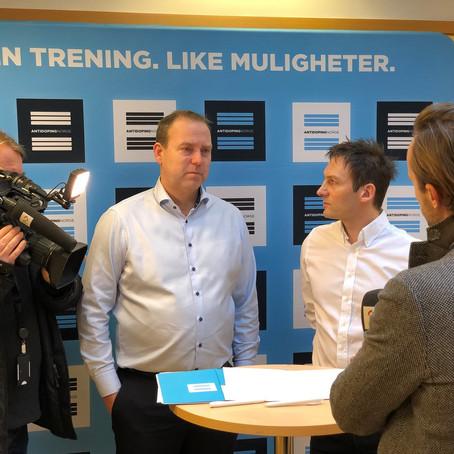 Samarbeidsavtale med Antidoping Norge