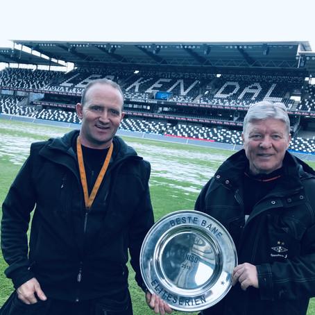 Beste bane kåret i Toppserien/Eliteserien