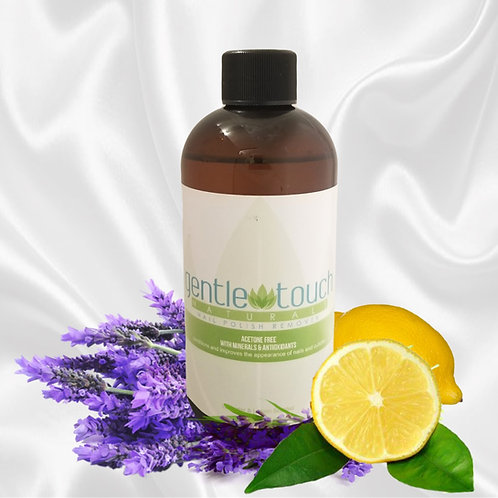 Lavender & Lemon Scented Natural Nail Polish Remover