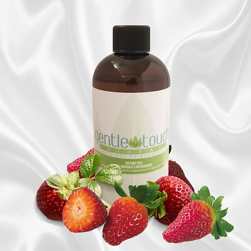 Strawberry Scented Natural Nail Polish Remover