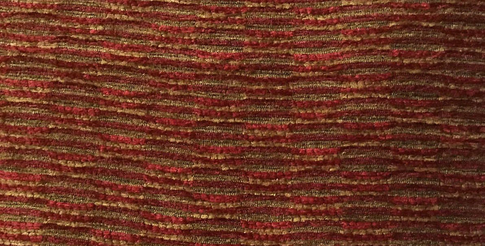 Red Gold Stripe Soft Textured