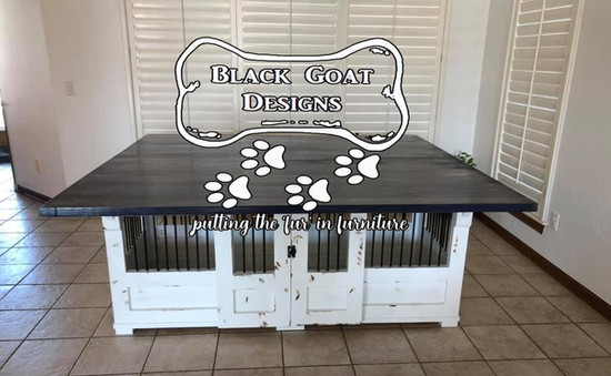 Distressed Dinning table/kennel