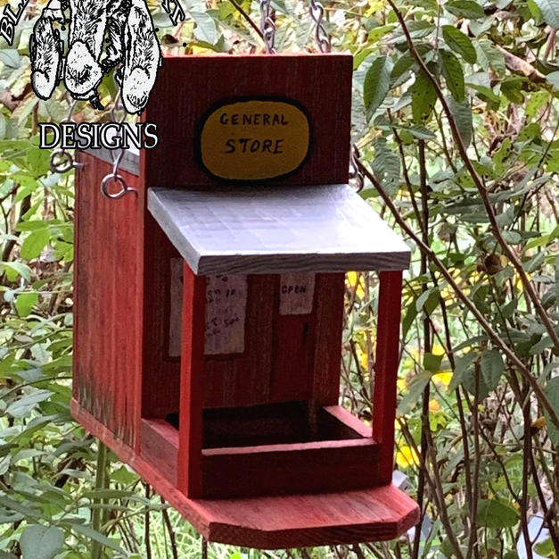Old West Type Seed Feeder