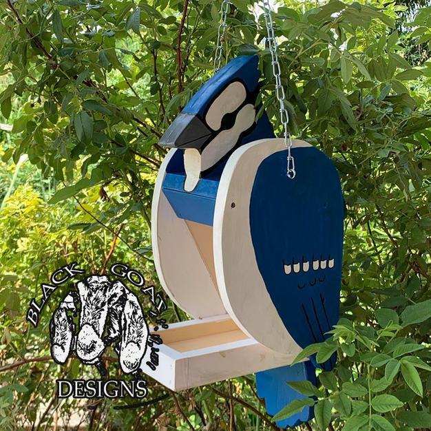 Blue Jay Seed Feeder