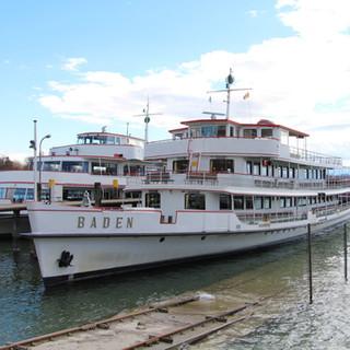 MS Baden im Hafen