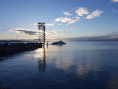 Hafen in Friedrichshafen am Bodensee