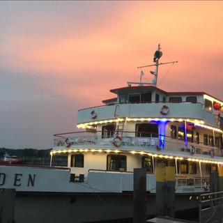 Das Schiff MS Baden