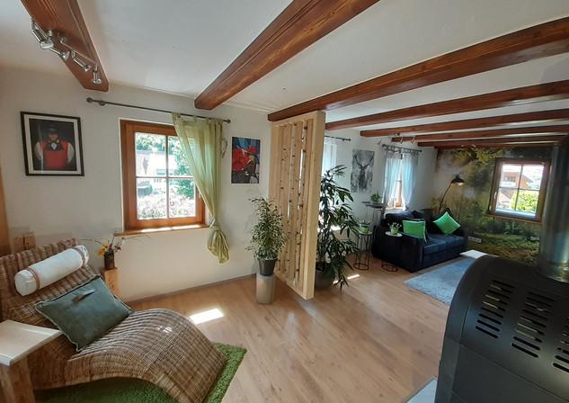 Ferienhäusle Wohnzimmer