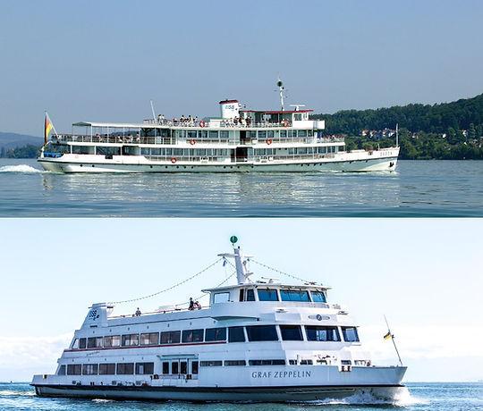 Culina Cruises - Schiffe im Bodensee