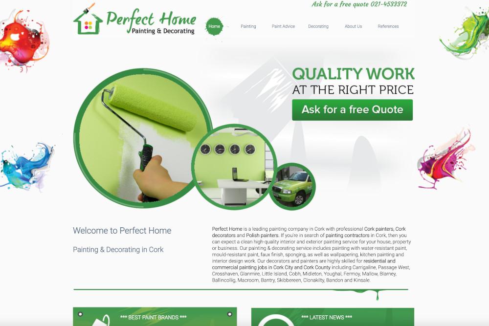 Website Perfect home Cork