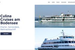 Website Culina Cruises