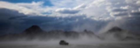 Bonneville Salt Flats wind storm.
