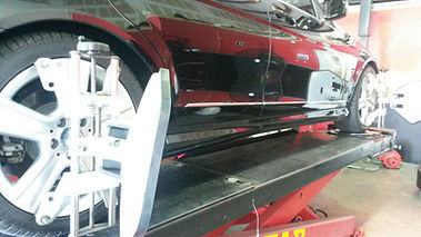 Mercedes Electronic 4 Wheel Alignment @ All German Motorworks