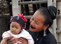 Goldenes Dreieck, Techilek, Khentung, An Stamm. Loi Stamm, ethnische Völker von Burma, Shangebiet