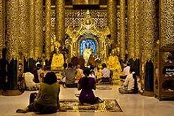 Mahamuni Pagode Mandala Burma