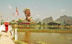 Pha An, Karen Staat, Kyautkala, Hauptstadt vom Kayin Staat