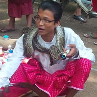 Myanmar Pwe, pagode festival entertainments