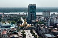 former capital Yangon