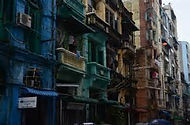 Down town  Yangon