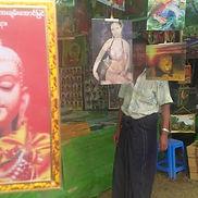 Myanmar Jahrmarkt, Feste