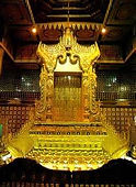 Golden Throne, National Museum Yangon