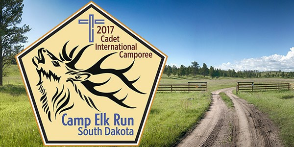 Camp Elk Run Sign and Front Gate