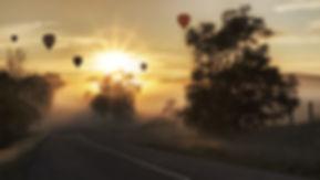 気球体験・イベントのウイニングバルーンクラブの体験では早朝から体験を行います。