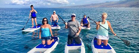 LightSUP Hawaii Morning Tour