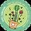 "Thumbnail: Sticker #2 ""One Folky Little Flower"""