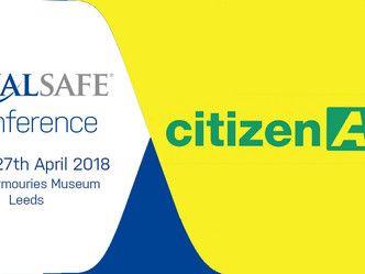 Don't miss citizenAID at the Qualsafe Conference this April!
