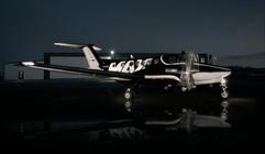Lightpainting Max Aviation