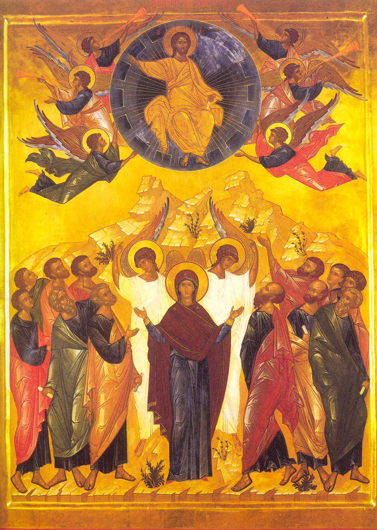 Ascension Icon from the Pskov Caves