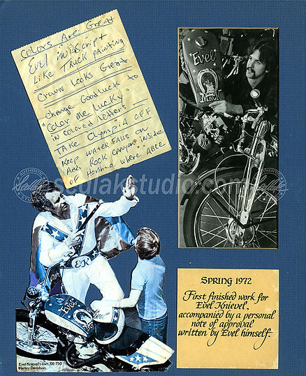 Evel & Boy in 70s Harley Ad Watermaked 1