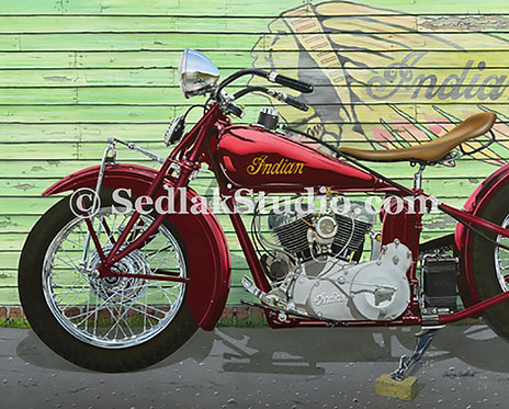 INDIAN SCOUT, 1934