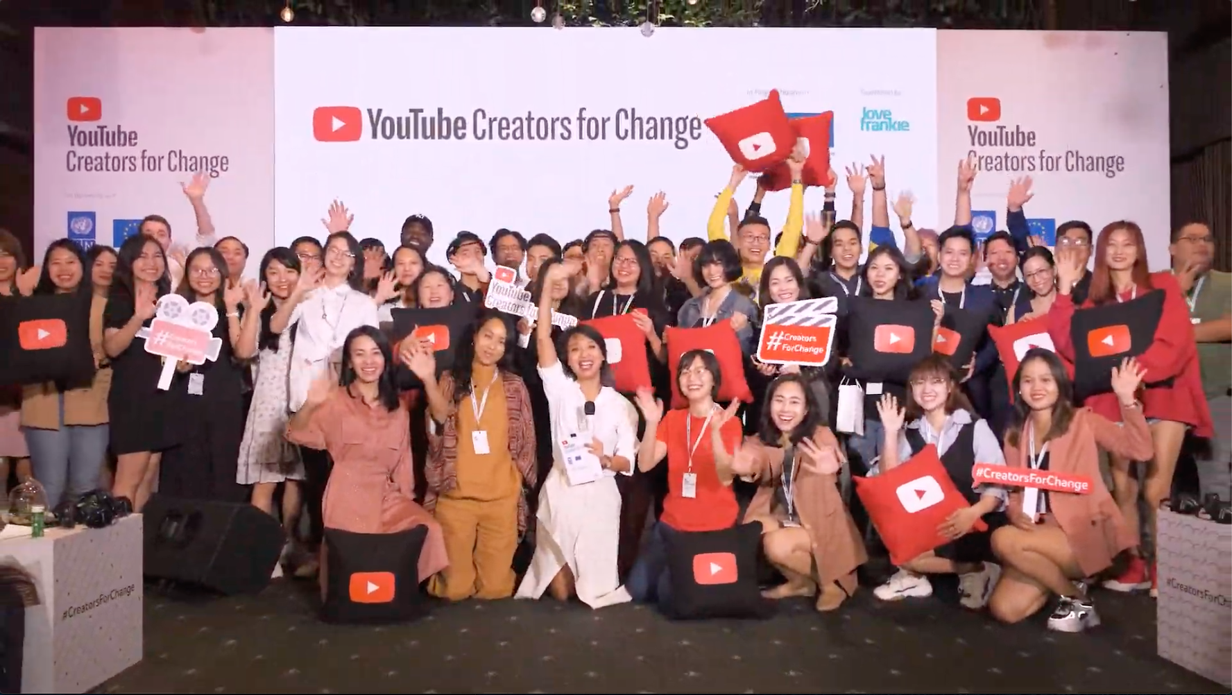 YouTube Creators for Change 2