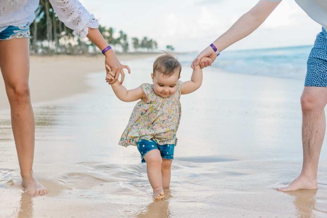 Las primeras vacaciones de nuestro bebe en Punta Cana, programamos una sesión de fotos profesional?